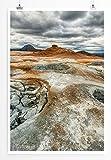 Eau Zone Bilder - Landschaft Natur - Geothermische Ebene
