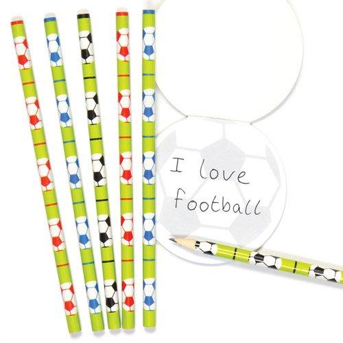 Baker Ross- Juego Escolar de lápices con Motivos de fútbol (Pack de...