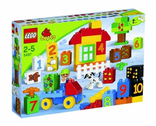 LEGO Duplo 5497 - Zahlen-Lernspiel (Ziel Von Lego City)
