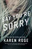 Best Fiction Book Series - Say You're Sorry (Sacramento Series, The Book 1) Review