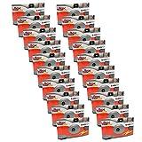 20 x PHOTO PORST monouso per macchina fotografica/fotocamera di altezza tempo/festa Fotocamera Agfa (27 fotografie, flash, 20-pezzi immagine