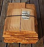 Rot-Zederholzschindeln gesägt 45cm, 3. Qualität 16,2 Breitenmeter