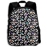 Daypacks,Bowling Pins Bälle Werfen Rucksack, Reisetaschen Bookbag Für Erwachsene Outdoor Gym