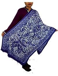 Sanvitta's Paisley Print Viscose Women's Stole Shawl Wrap Dupatta - B078TFK4ZC