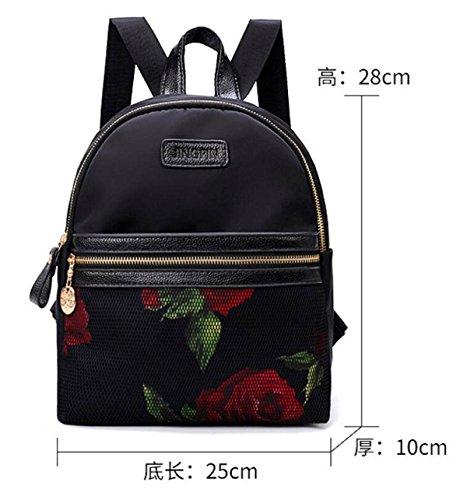 Damen Wasserdichte Tasche Mini Freizeitrucksack,Style2 Style1