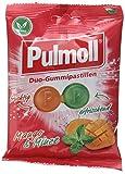 Pulmoll Duo-Gummipastillen Mango & Minze, 15er Pack (15 x 90 g)