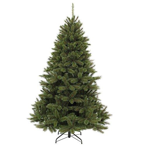 Gartenpirat Künstlicher Weihnachtsbaum 210 cm Christbaum mit Hartnadel und Frosteffekt grün