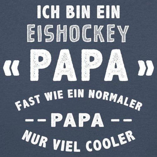 Ich bin ein Eishockey Papa - Herren T-Shirt - 13 Farben Navy