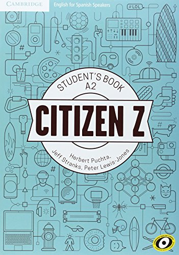 Citizen Z A2 Student's Book with Augmented Reality - 9788490360644 por Herbert Puchta