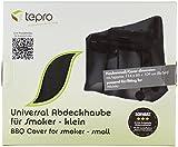 Tepro Universal Grillabdeckhaube für Smoker, klein, schwarz, 66.4 x 114 x 109.2 cm, 8106