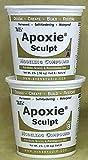 Apoxie Sculpt Modelliermasse, 4 Pfund, Epoxieharzkleber, weiß, von Aves