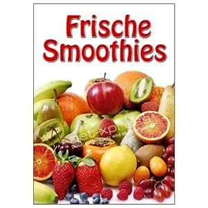 Affiche pour la vente des smoothies frais dIN a1 werbeplakat poster jus