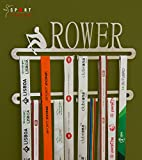 Sport Contour - Medagliere da parete a 2 piani, per medaglie ottenute nel canottaggio