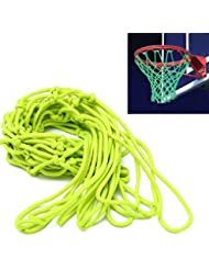 Bombilla de baloncesto red, zilong Baloncesto Red Red – Red para canasta de repuesto para Outdoor Sports, 44 x 32 cm