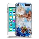 Head Case Designs Offizielle Runa Korallenriff Blau Lebendig Soft Gel Hülle für Apple iPod Touch 6G 6th Gen