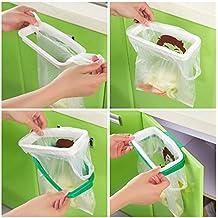 Borse porta armadio cabinet portellone supporto stoccaggio cestino della spazzatura da cucina appeso da appendere Trash rack