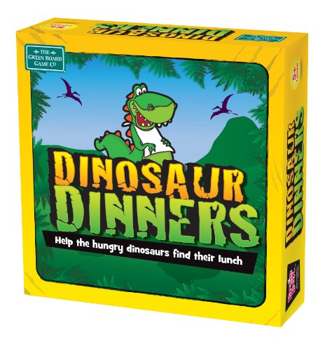 The Green Board Game dîners de Dinosaures