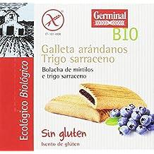 Germinal Galletas Sin Gluten de Trigo Sarraceno con Arándanos - Paquete de 10 x 200 gr