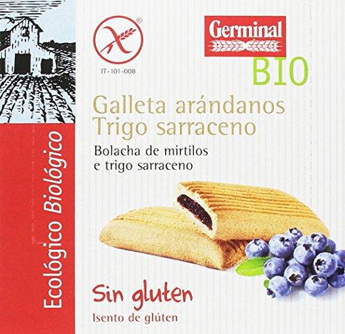 Galletas eco de trigo sarraceno y arándanos GERMINAL (10 paquetes de 200 gr)