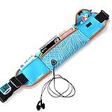 PROKTH Sport Hüfttasche,100% Wasserdicht Elastische Leicht und Viel Platz Verstellbare Taillenbeutel,mit Kopfhöreranlass für auf Sport und Outdoor Aktivitäten anwenden