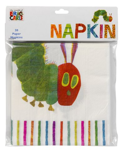 talking-tables-very-hungry-caterpillar-napkin-pack-of-20