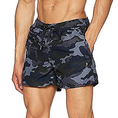 Jack & Jones Men's Jjisunset Ww Camo Swim Shorts