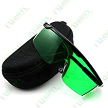 eleksmaker® Azul Rojo Morado Laser Gafas de protección Seguridad Gafas Laser Eyewear