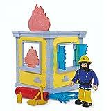 Dickie Toys Kleiner Trainingsturm | mit Spielfigur Elvis | Feuerwehrmann Sam