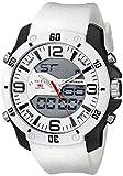 U.S.POLO ASSN. US9471 - Reloj de Pulsera Hombre, Silicona, Color Blanco