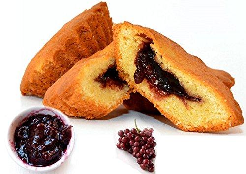 Biscotti tipici calabresi, bocconotti dolci ripieni alla mostarda di frutta 300gr pasticceria specialità di calabria. prodotti dolciari