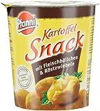 Pfanni Kartoffelsnack Fleischbällchen & Röstzwiebeln, 4er-Pack (4 x 53 g)