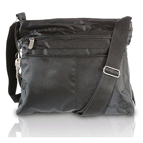 Baggallini Tote (SUVELLÉ Suvelle Leichtgewichtige Klassische Reise- und Alltags-Tragetasche Multi Pocket Schulter Handtasche 1905)