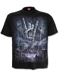 Spiral Direct - T-shirt - Homme noir Noir/bleu/gris