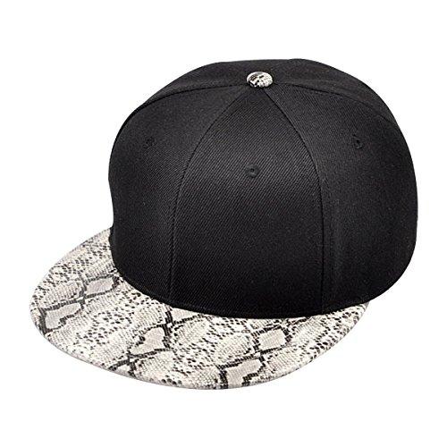 zlyc-sac-a-fashion-leopard-bicolore-de-haute-qualite-et-imprime-serpent-reglage-hat-casquette-de-bas