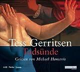 Todsünde von Tess Gerritsen Ausgabe gekürzte Lesung (2009)