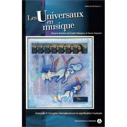 Les universaux en musique