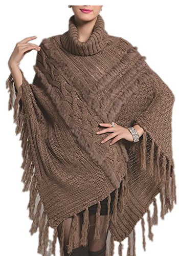 Charmly - Poncho -  donna Brown