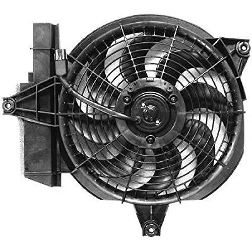 PIECES AUTO SERVICES Ventilateur condenseur de climatisation Hyundai Santa Fé 1 (SM) de 00 à 06 - OEM : 9778626150
