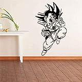 zhuziji Dessin animé Dragon Ball Soleil Wukong Vinyle Sticker Décor À La Maison...