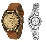 xeno ZD000304-248 Brown Leather & Peacoc...