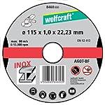 Wolfcraft 8460000 - 3 discos d...