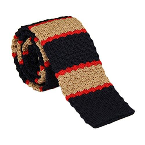 Für Gucci-krawatten Männer (Elviros modische Schmale handgefertigte gestrickte Herren Krawatte 6 cm für Business, Alltag und Hochzeit)