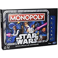 Hasbro - C19901010 - Monopoly Star Wars 40 Ans -