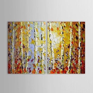 laps-mano-paisaje-pintura-al-oleo-pintada-cuadro-de-la-pared-de-alamo-con-juego-de-marco-estirado-de