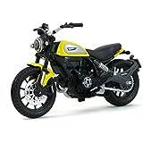 Maisto Ducati Scrambler Scale 1:8 Diecast Bike Model with Moveable Kick Stand