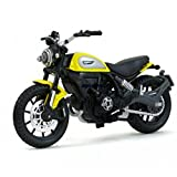 #5: Maisto Ducati Scrambler Scale 1:8 Diecast Bike Model  with Moveable Kick Stand