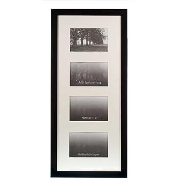 Multi Aperture Frames to Fit 4 Photo\'s - Black - 7\