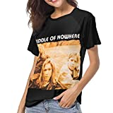 Photo de JEWold Hanson Middle of Nowhere Women's Baseball Short Sleeves Black Raglan T-Shirts Tee T Shirts for Women Tshirts Femme par JEWold