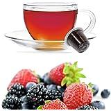50 Capsules Tisane aux Fruits Rouges Compatibles Nespresso - Café Kickkick