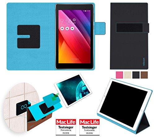 reboon Hülle für ASUS ZenPad 7.0 Tasche Cover Case Bumper | in Schwarz | Testsieger